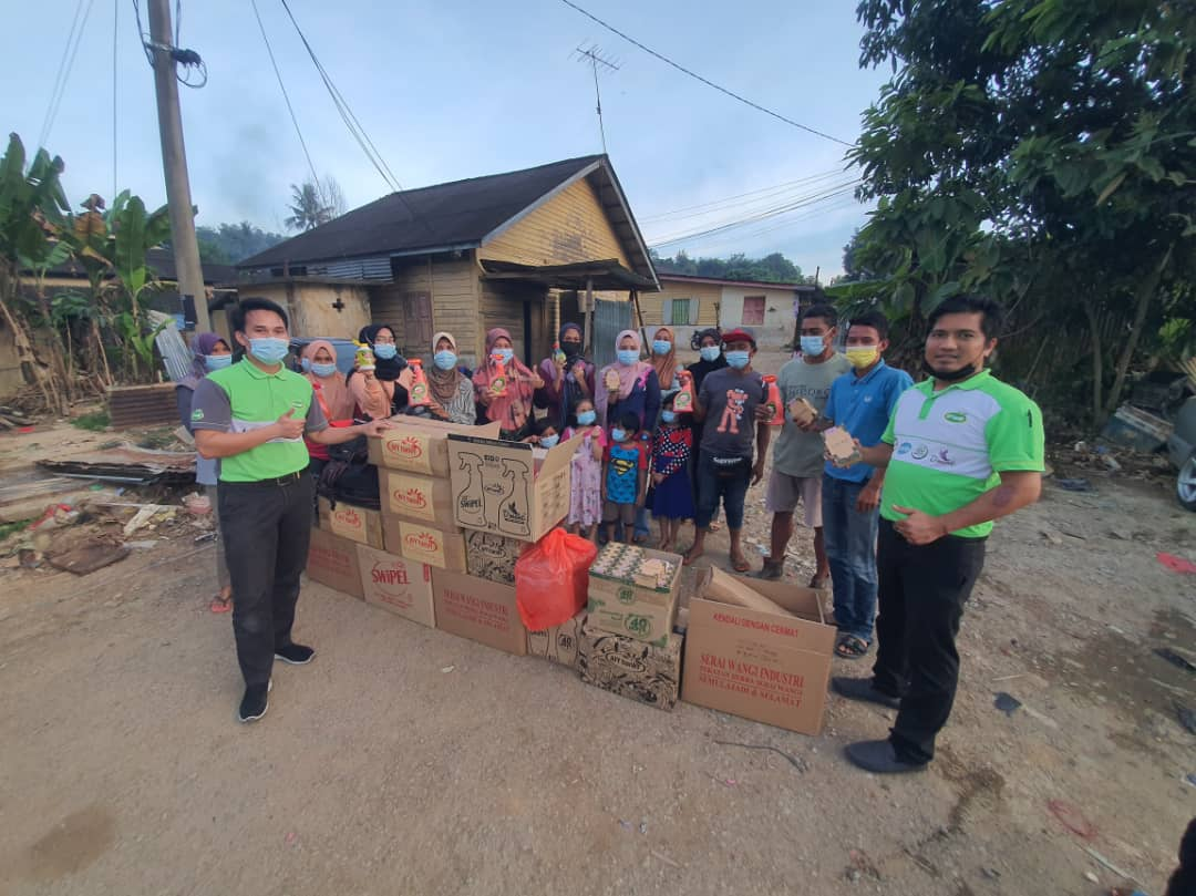 Post-Flood Relief in Kuala Lipis Pahang